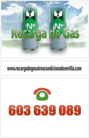 Recarga de Gas Aire Acondicionado Sevilla